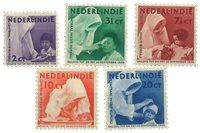Nederland - Missie 1938 (nr. 241-245, postfrisk)
