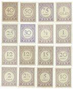 Suriname 1913-1931 - NVPH P17/32 - ubrugt