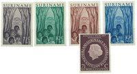 Surinam 1954 - NVPH 312-316 - neuf