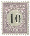 Surinam 1886-1888 - NVPH P3 - Neuf avec charnière