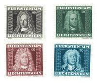 Liechtenstein 1941 - Michel 198/201 - Postfrisk