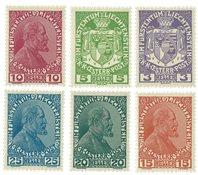Liechtenstein 1917 - Michel 4/9 - Postfrisk