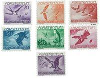 Liechtenstein 1939 - Michel 173/179 - Postfrisk