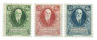 Liechtenstein 1925 - Michel 72/74 - Ubrugt