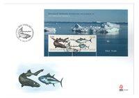 Fisk i Grønland III - FDC/Miniark