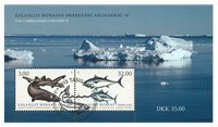 Fish in Greenland III - First day cancellation - Souvenir sheet