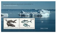 Fish in Greenland III - Mint - Souvenir sheet