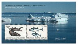 Fisk i Grønland III - Postfrisk - Miniark