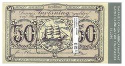 Old Greenlandic Banknotes IV - Mint - Souvenir sheet