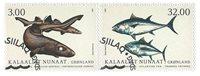 Fisk i Grønland III - Førstedagsstemplet - Sæt