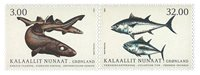 Fish in Greenland III - Mint - Set