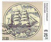 Gamle grl. pengesedler IV - Dagstemplet - Frimærke