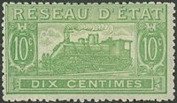Frankrig - Pakkeporto YT 10 - Ubrugt