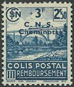 Frankrig - Pakkeporto YT 196 - Ubrugt