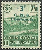 France - Colis postaux YT 197 - Neuf avec charnières