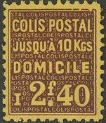 France - Colis postaux YT 165 - Neuf avec charnières