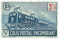 France - Colis postaux YT 215 - Neuf avec charnières