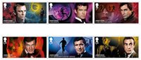 Grande-Bretagne - Film James Bond 2020 - Timbres neuf