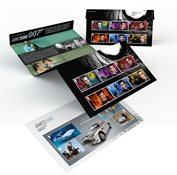 Great Britain - James Bond - Presentation pack with set and souvenir sheet