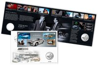 Great Britain - James Bond Q Branch - PNC / Coin Cover