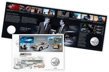 Grande-Bretagne - James Bond Q Branch - Lettre philatélique-numismatique