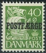 Danemark - AFA 25 postfaerge, neuf sans ch.