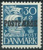 Danemark - AFA 24 postfaerge, neuf sans ch.