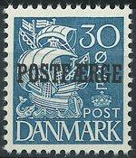 Danmark - AFA 17 postfærge, postfrisk