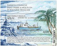 St. Pierre & Miquelon - Hawaiki ex Langlade - Bloc-feuillet neuf