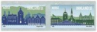 Noorwegen - City anniversaries Moss/Bergen - Postfrisse serie van 2