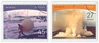 Noorwegen - Polar postzegels Jan Mayen - Gestempelde serie van 2