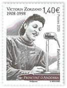 Frankrijk - Victoria Zorzano - Postfrisse postzegel