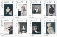 Jersey - Claude Cahun - Postfrisse serie van 8