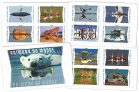 Frankrijk - Wild Animals - Postfris boekje