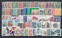 Norge 1960-2000 - Postfrisk (MICHEL værdi EUR 100)