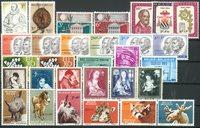 Belgien 1961 - Postfrisk