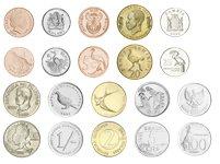 Fuglenes verden - 10 mønter i blisterkort