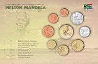 Mandela blister - 9 monete in blister