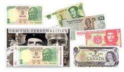 Berømte personligheder - 5 pengesedler