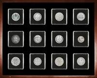 Hopeakolikoita - 12 hopeakolikkoa 12:sta Euroopan maasta.