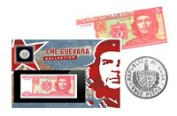Che Guevara Collection - Coin and banknote