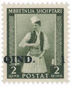 Albanie 1942 - Michel 329 - Neuf