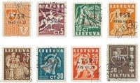 Lituanie 1940 - Michel 449/456 - Oblitéré
