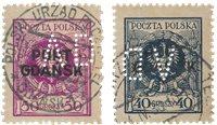 Allemagne / Danzig 1925 - Michel 10/11 - Oblitéré