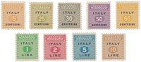 Italien 1943 - Michel 1/9 - Postfrisk