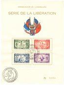 Luxembourg 1945 - Michel 343/346 - Oblitéré