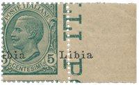 Italie 1912 - Sassone 4/lea - Neuf