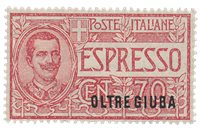 Italien 1926 - Sassone E 1 - Postfrisk