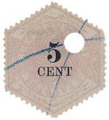 Holland 1879 - NVPH TG 3 - Stemplet