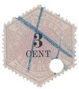 Holland 1879 - NVPH TG 2 - Stemplet